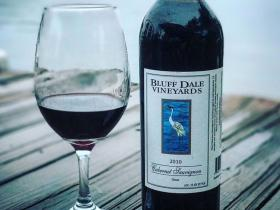 Bluff Dale Vineyards Wine